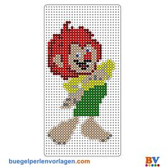 Thumbnail image for Pumuckl Bead Crafts, Fun Crafts, Arts And Crafts, C2c Crochet, Beading Patterns Free, Perler Patterns, Free Baby Stuff, Baby Knitting Patterns, Perler Beads
