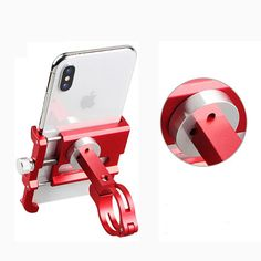 Best offer Gub Plus 9 Rotating Bike Phone Holder For Smartphone 360 Degree Rotatable GPS Bicycle Phone Stand Motorcycle Support (Red) Deals Tactical Supply, Bike Equipment, Sports Glasses, Phone Mount, Best Phone, Phone Stand, Phone Holder, Aluminium Alloy, Republic Of The Congo
