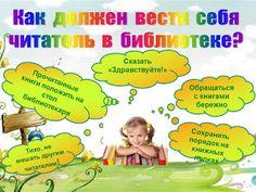 """Библиотечная фея: Плакат """"Как должен вести себя читать в библиотеке?..."""