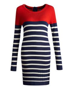 There's a (colour) block party happening and you're invited! A striking set of stripes have been generously splashed across this knitted dress that will add a little warmth and a lot of style to any occasion Dress P, Knit Dress, Jersey Shirt Dress, Joules Clothing, Country Outfits, Beautiful Outfits, Beautiful Clothes, Fall Looks, Blue Fashion