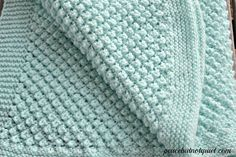 An adorable popcorn baby blanket pattern 2019 The Popcorn Baby Blanket a beginner knitting pattern that makes a fun blanket that (I think) looks like popcorn! The post An adorable popcorn baby blanket pattern 2019 appeared first on Knit Diy. Baby Knitting Patterns, Love Knitting, Easy Knitting, Crochet Patterns, Beginner Knitting, Free Baby Blanket Patterns, Stitch Patterns, Easy Knit Baby Blanket, Knitted Baby Blankets