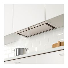 UNDERVERK Built-in extractor hood, stainless steel