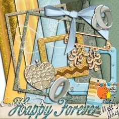 Happy Forever 1 Happy Forever 1 [] - $1.99 : Caroline B., My Magic World of Digital Design, wedding, album