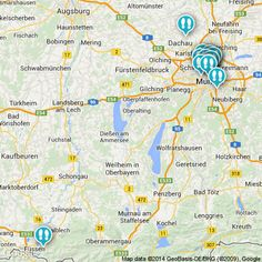 #Munich is filled with attractions, restaurants, & bars. Check out this #map to see where to go! #explore #travel