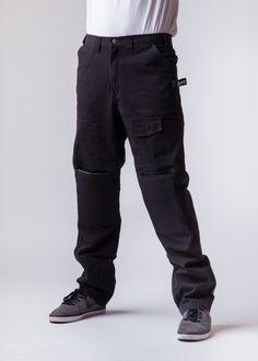 c0fa23c0 Black work pants with built in Knee Pads Black Work, Work Pants, Workwear,