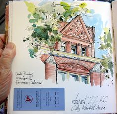 Urban Sketchers Midwest: Urban Sketching in the City Market, KC