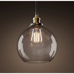 Maisie 8-inch Adjustable Height Edison Pendant with Bulb - Overstock Shopping - Great Deals on Warehouse of Tiffany Chandeliers & Pendants