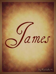 Baby Boy Name: James. Origin: Hebrew; English; Irish. http://www.pinterest.com/vintagedaydream/baby-names/