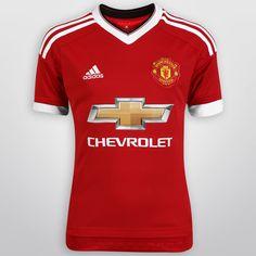 Con el Jersey Infantil Adidas Manchester United Casa 15/16 S/N°, tus pequeños podrán lucir con orgullo su afición por el histórico club europeo. Está confeccionado con tejido CLIMACOOL, sistema que lo mantendrá fresco y seco todo el tiempo.