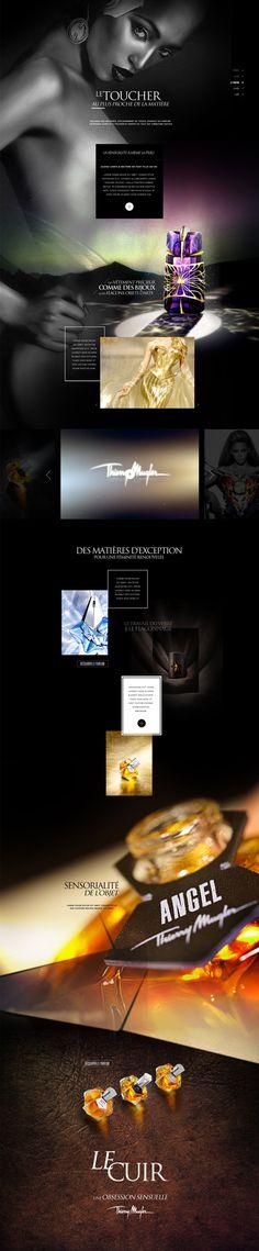Thierry Mugler • 2 by Myriam Penot, via Behance