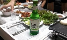 처음처럼~! 좋은물로 만든 처음처럼 명예회복^^   소주, soju, 처음처럼, 한국 술, korean drink, 알칼리 환원수로 만든 깨끗한 술♥