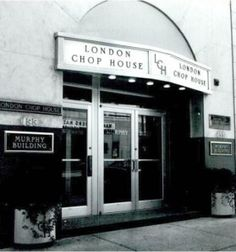 The Famous London Chop House