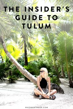 MEXICO // Travel Guide: How to do Tulum, Mexico like a fashion girl Mexico Vacation, Mexico Travel, Vacation Spots, Tulum Mexico, Cozumel, Belize, Azulik Hotel Tulum, The Places Youll Go, Places To Visit