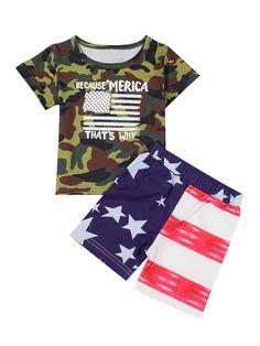 Girls 2 Pack Top Kids New T shirt Set White Stripe 2 Psc Age 1 2 3 4 5 6 Years