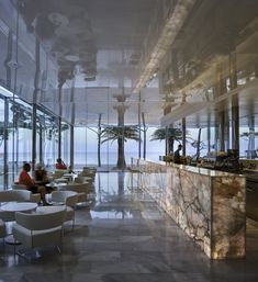 The Hotel Aromar is a singular four-stars hotel located on the Costa Brava (Spain) whose renovation project is the work of and produced by Nerinea. All its furniture is made with semiprecious stones of onyx and quartz. Natural Stones, Costa, Spanish, Marble, Quartz, Stars, Nature, Projects, Furniture