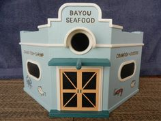 New Orleans Seafood Market Birdhouse