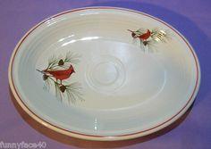 $13 Retired Fiestaware Cardinal Bird Platter New 1st Quality Fiesta HLC   eBay