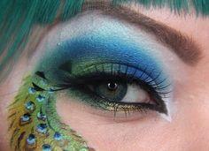Peacock Eyes  tail!