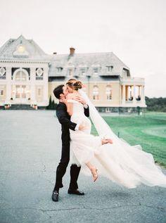 Elegant + glamorous Newport wedding:   Photography: Sally Pinera - http://sallypinera.com/