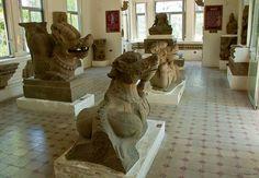 Cham Sculptures, Cham Museum, Danang, Vietnam