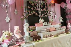 """Photo 1 of 21: Pink and brown themed party for girls / Birthday """"Sweet Pink and Brown World"""" 