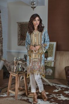 Threads And Motifs Winter Silk Collection 2017