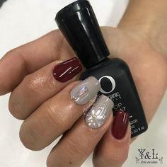 Que tengan una linda noche  #Colorgel #uñasnaturales Nailart, Nail Designs, Instagram, Natural Nails, Fingernail Designs, Art, Nail Desings, Nail Design, Nail Organization