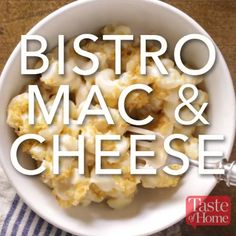 Bistro Mac & Cheese Recipe