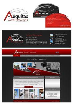 Logo, Bcard, Email Signature & Website - Local Client