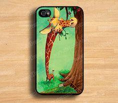 unique iphone 4 case  giraffe iphone 4s case iphone by DreamZone, $7.99