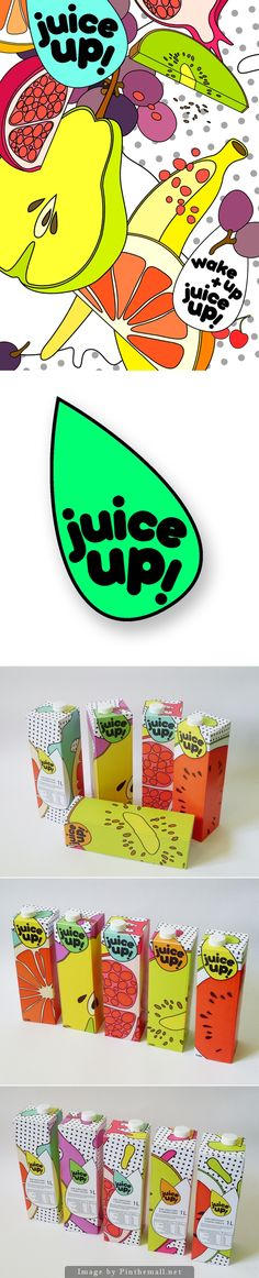 Let's have some juice #packaging curated by Packaging Diva PD created via https://www.behance.net/gallery/juice-up/3148132