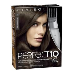 Clairol Nice 'n Easy Perfect 10 Permanent Hair Color, 005 Medium Brown - 1 ea