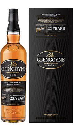 21 Year Old Highland Single Malt Whisky - Glengoyne Distillery