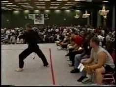 1998 Bluegrass Nationals Karate Tournament Daytime Forms and Weapons Hig...