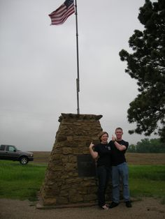 Geographical Center of the 48 States, Lebanon, KS