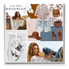 """""""The New Bohemian"""" by biancac1d ❤ liked on Polyvore featuring American Eagle Outfitters, Dorothy Perkins and Chan Luu"""
