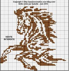Cheval monochrome
