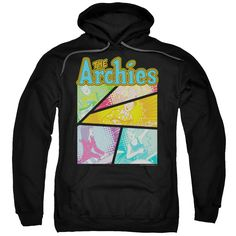"""Checkout our #LicensedGear products FREE SHIPPING + 10% OFF Coupon Code """"Official"""" Archie Comics / The Archies Colored-adult Pull-over Hoodie - Archie Comics / The Archies Colored-adult Pull-over Hoodie - Price: $49.99. Buy now at https://officiallylicensedgear.com/archie-comics-the-archies-colored-adult-pull-over-hoodie"""