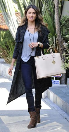 b7b0015db Nikki Reed Casual Style - Out in Los Angeles Nikki Reed, Casual Jeans, Henri