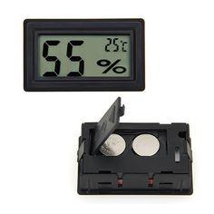ミニポータブルデジタル液晶湿度温度計湿度計メーター電子新しいウェザーステーションワイヤレスバロメーター