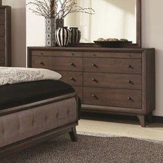Coaster Bingham 8 Drawer Dresser with Top Felt-Lined Drawers - Coaster Fine Furniture