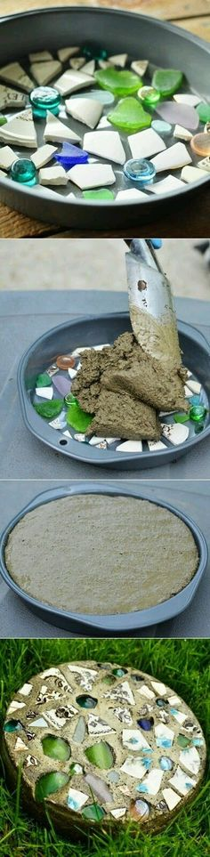 DIY - Garden Stepping Stones
