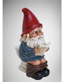 Garden Gnome on the Throne