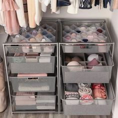 Trendy Bedroom Closet Organization Cheap Budget Ideas Bedroom closet organization cheap budget I Bedroom Closet Storage, Small Closet Organization, Master Bedroom Closet, Home Organisation, Organization Ideas For Bedrooms, Shoe Storage, Closet Dresser, Organization Hacks, Clothing Organization