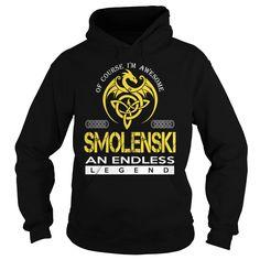 SMOLENSKI An Endless Legend (Dragon) - Last Name, Surname T-Shirt