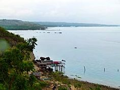 Mindanao Coast behind General Santos
