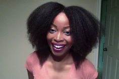 Blow out @msnaturallymary approx 3 yrs natural