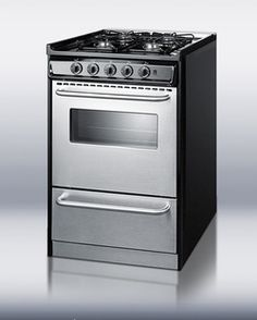 32 best gas ranges images on pinterest little houses propane summit professional series 24 inch slide in natural gas range with 4 sealed burners cu oven capacity drop down broiler drawer and electronic ignition in fandeluxe Choice Image