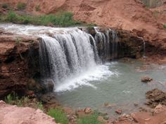 Beaver Falls Havasupai | Rock Falls / Lower Navajo Waterfall