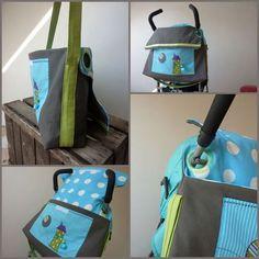 Sac à langer Je me verrai bien avec un sac besace comme celui-là ! ;-)